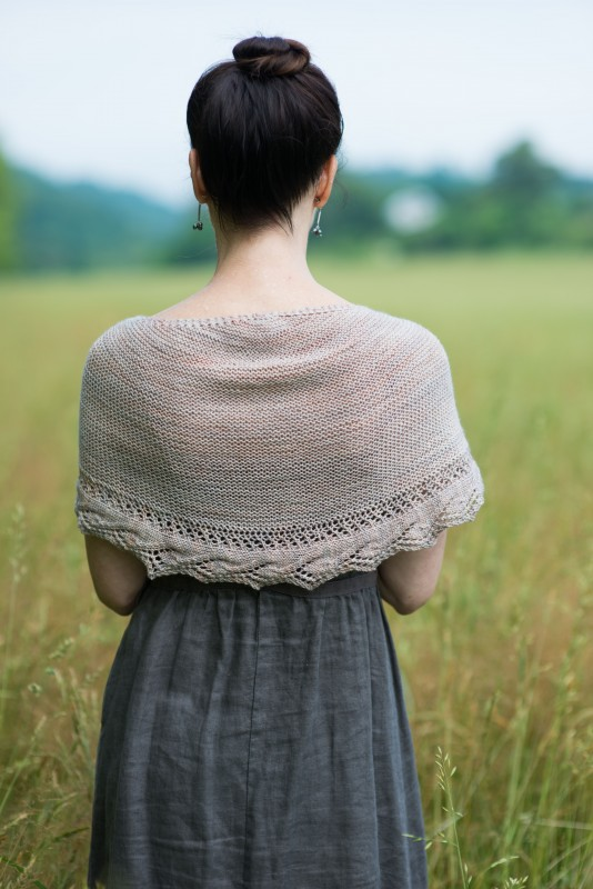 Carina Shawl by Jennifer Wood