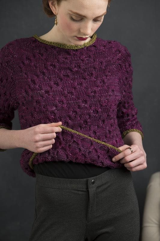 Ada from Refined Knits by Jennifer Wood