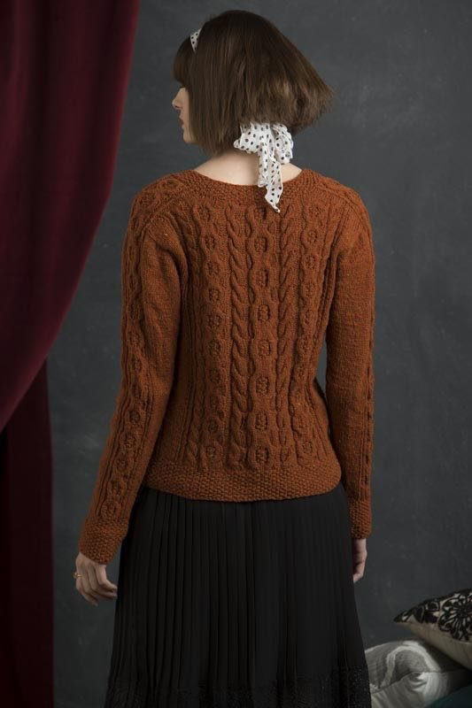 Willa from Refined Knits by Jennifer Wood