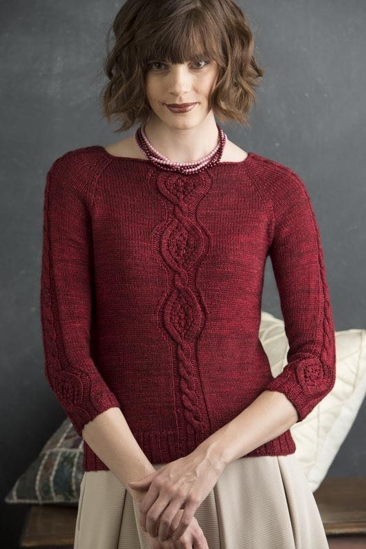 Corrine from Refined Knits by Jennifer Wood