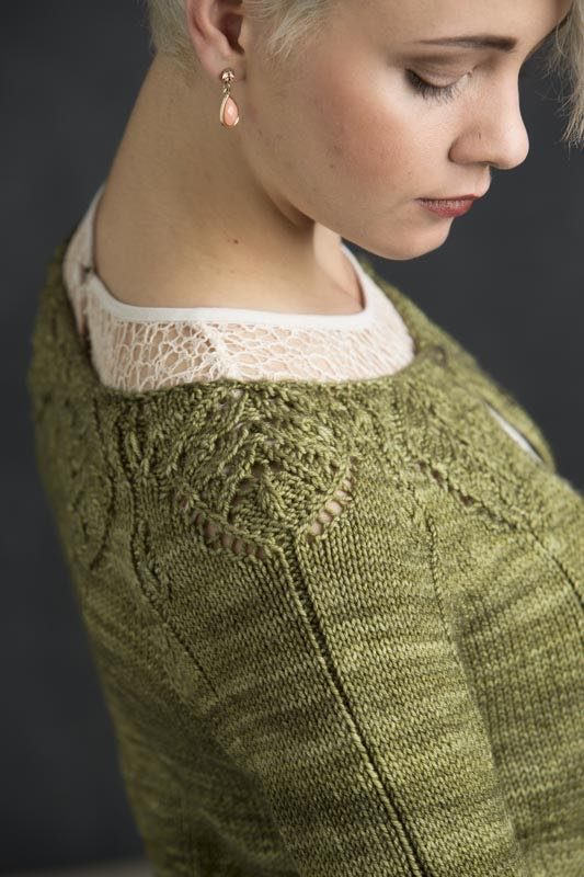 Camelia from Refined Knits by Jennifer Wood