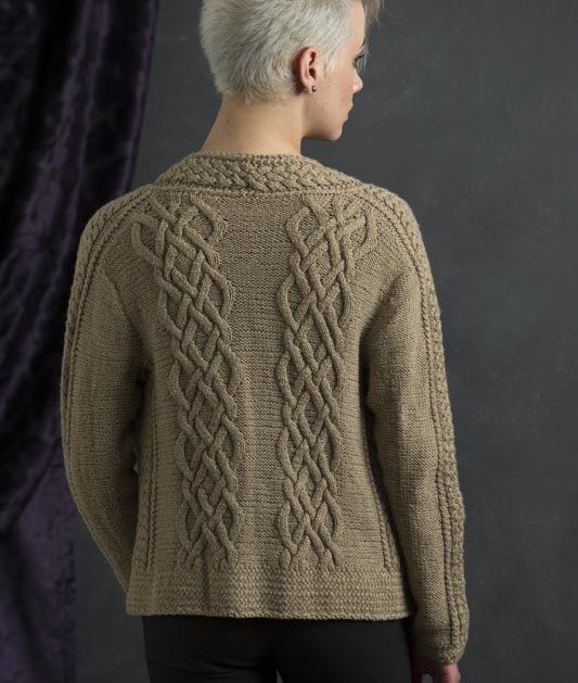 Brielle from Refined Knits by Jennifer Wood