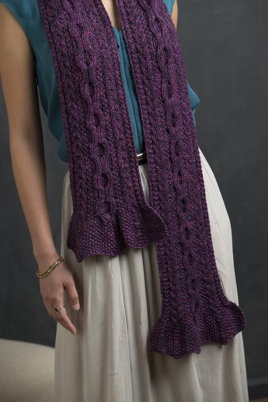 Adelaide from Refined Knits by Jennifer Wood