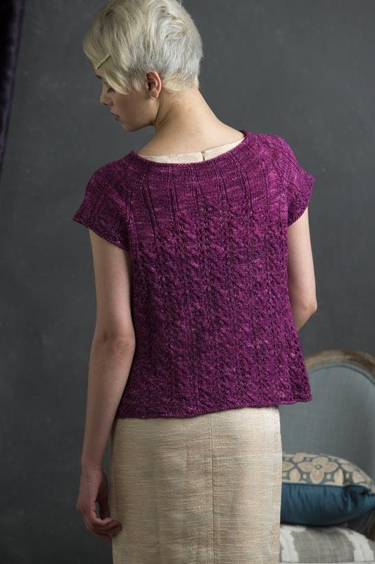 Maisie from Refined Knits by Jennifer Wood