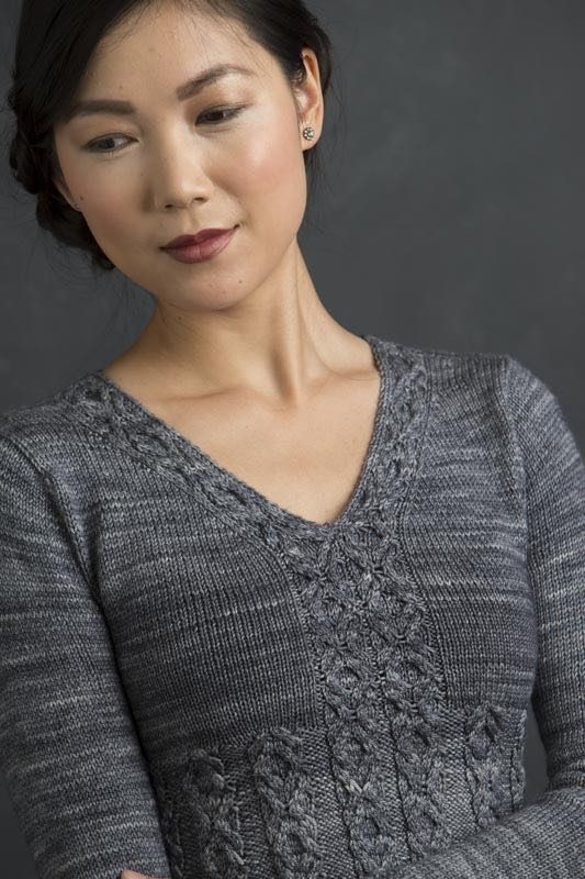 Idril from Refined Knits by Jennifer Wood