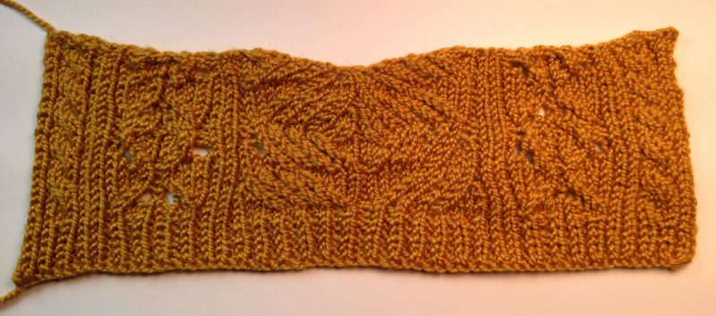 Swatch for Refined Knits
